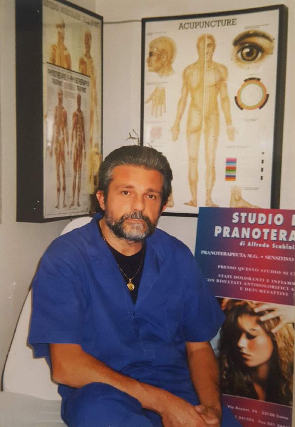 Pranoterapeuta Alfredo Scabini