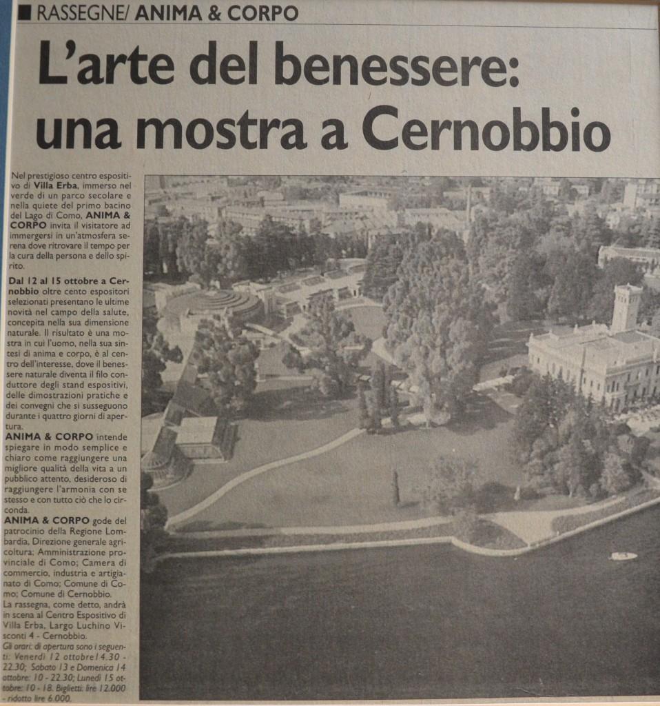"""Cernobbio, """"L'arte del Benessere"""""""